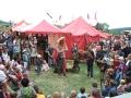 Fahrend Volker auf Mittelaltermarkt