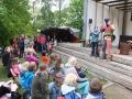 Kinderprogramm beim Burgfest Vlotho