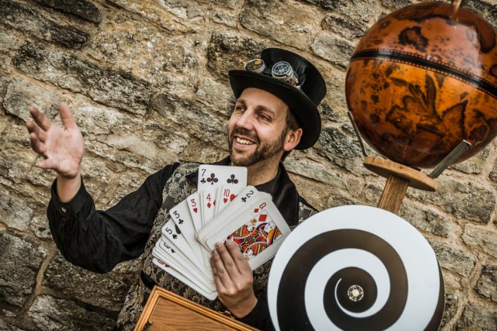 Zauberer Florian Edler